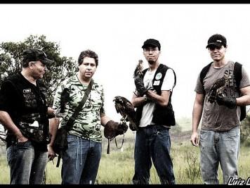 Foto de Janeiro de 2009 da Antiga AMF - Associação Mineira de Falcoaria.
