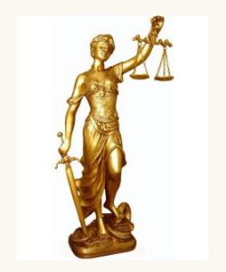 Deusa Têmis - Guardiã dos Julgamentos e da Lei.