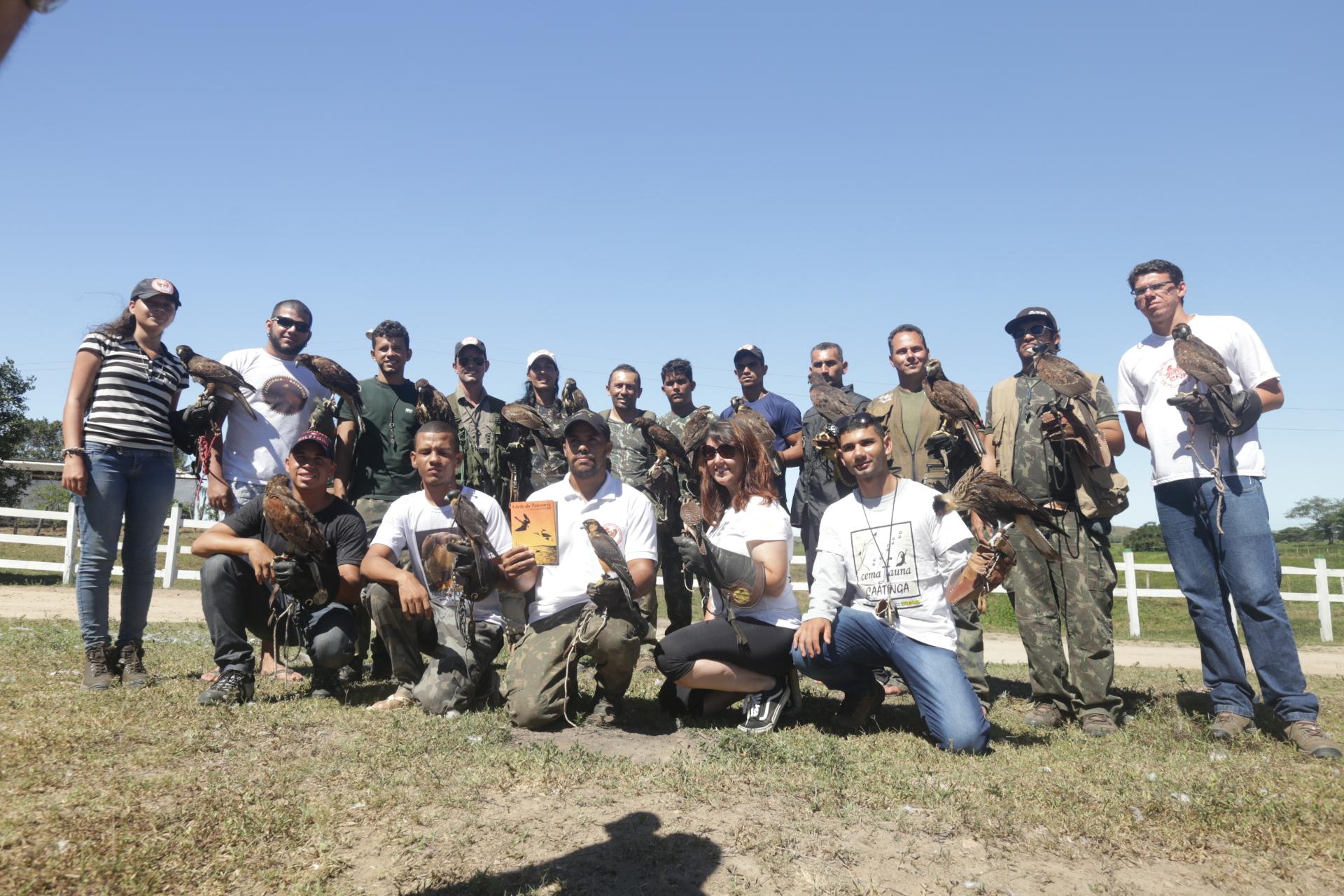 Mini encontro de Falcoaria promovido pela ANF, 2015